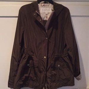 Jessica Simpson hooded raincoat XL NWOT